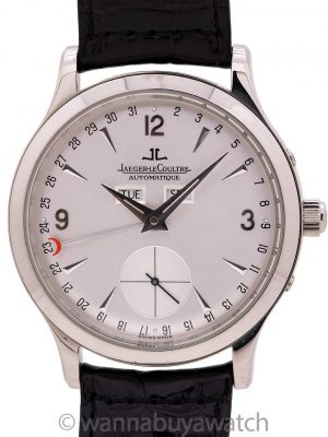 Jaeger Lecoultre Master Control Calendar 140.8.87 Box & Papers