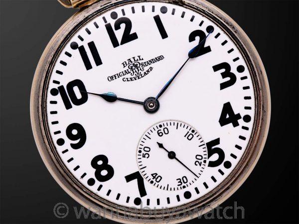 Ball Official Standard Railroad Pocketwatch circa 1930