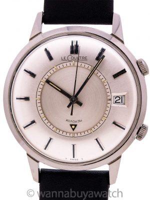 "Lecoultre SS Memovox Alarm ""Jumbo"" circa 1960's"