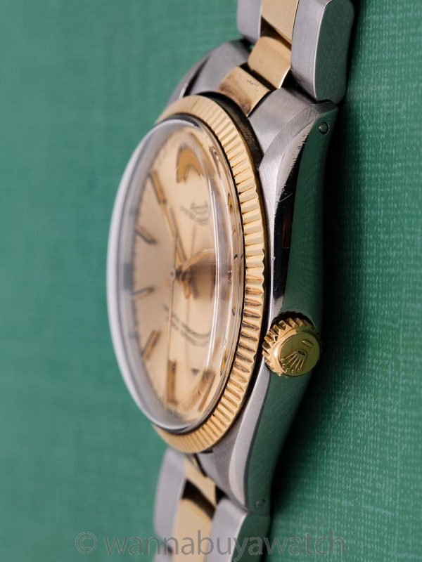 Rolex Oyster Perpetual SS/18K YG ref 1005 circa 1978