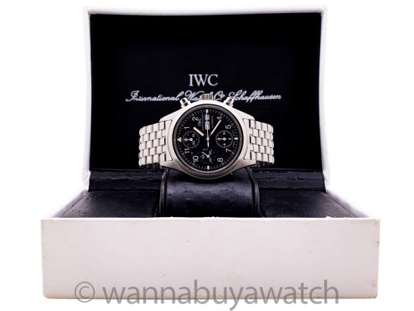 IWC Flieger Chronograph circa 2000 Box & Papers