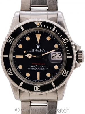 Rolex Red Submariner ref# 1680 Mark V circa 1972