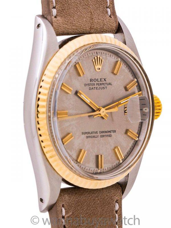 "Rolex Datejust ref 1601 SS/14K YG ""Fat Boy"" circa 1968"