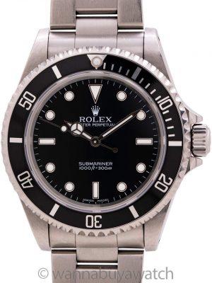 Rolex Submariner ref# 14060M circa 2005 Box & Papers