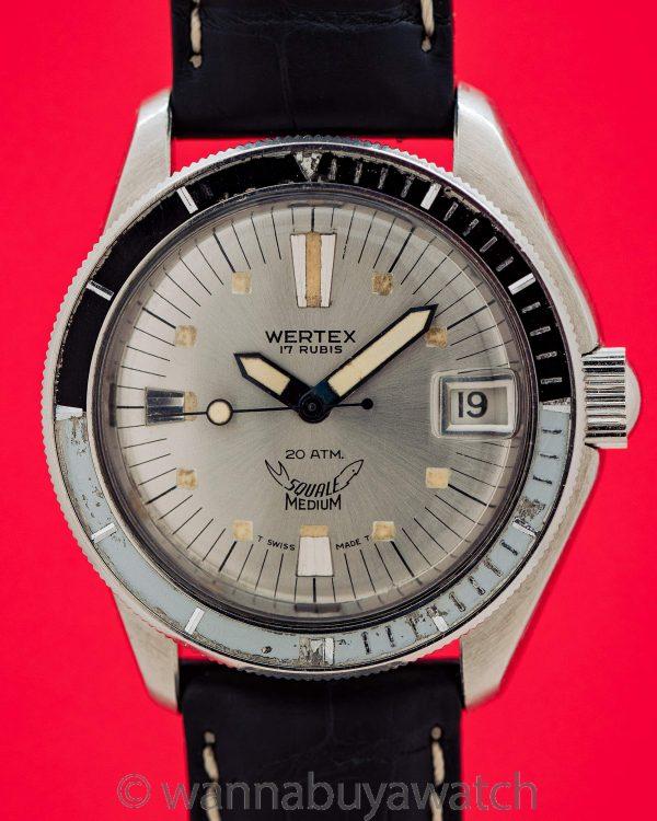 Wertex Squale Swiss Diver's circa 1960