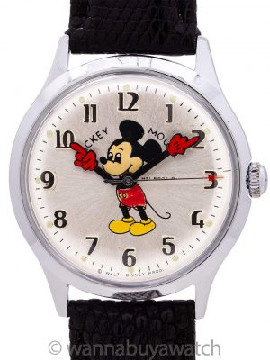 Helbros 17 Jewel Mickey Mouse circa 1960's