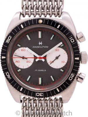 Hamilton SS Chrono-Diver Big Eye Chronograph ref 647 circa 1960's