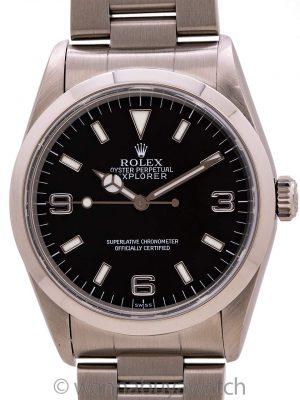 "Rolex Explorer 1 ref# 14270 ""SWISS"" circa 1998"