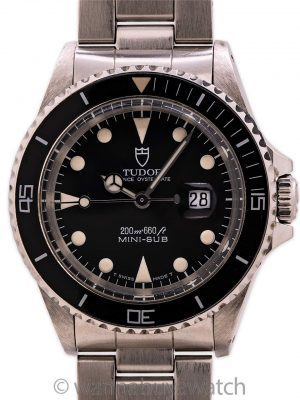 Tudor Stainless Steel Mini-Sub ref 73090 circa 1995