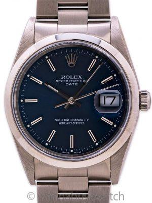 Rolex Oyster Perpetual Date ref 15200 Quick Set circa 2001