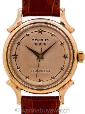 Benrus Star Dial Automatic circa 1950's
