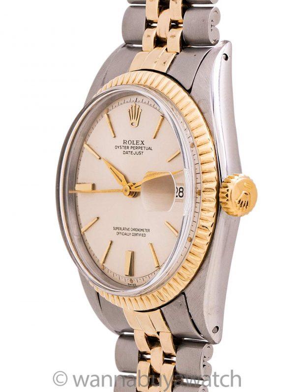 Rolex Datejust ref 1601 SS/14K YG circa 1963