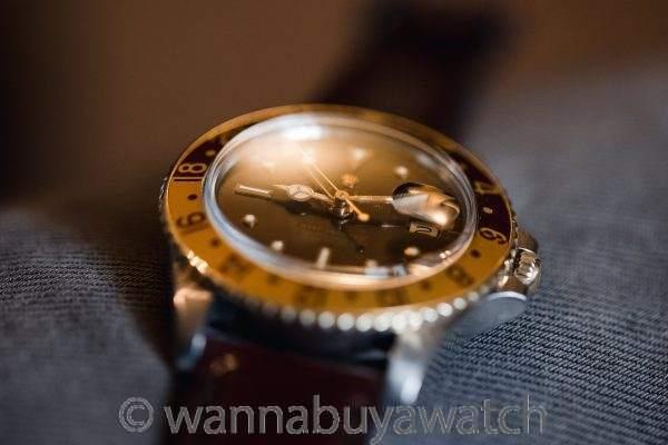 "Rolex 2 Tone GMT ref 1675 ""Chocolate"" circa 1979"