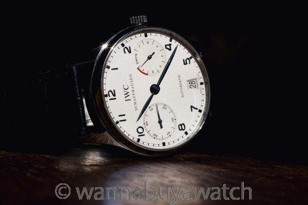 IWC SS Portuguese Power Reserve ref 5001-07 Automatic Box & Papers