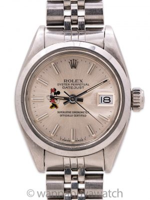 "Rolex Lady Datejust ref 6916 ""Minnie Mouse"" circa 1963"