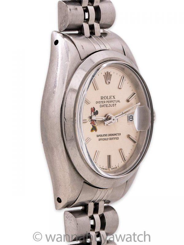 "Rolex Lady Datejust ref 6916 ""Minnie Mouse"" circa 1963"