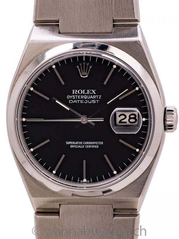Rolex Datejust ref 17000 Stainless Steel Oyster Quartz circa 1978