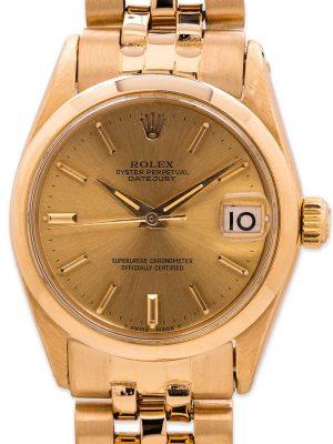 Rolex Midsize Datejust ref 6629 18K YG circa 1964