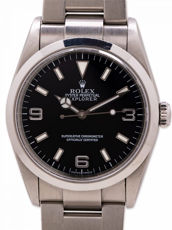 Rolex Explorer 1 ref 114270 circa 2004 w/ Papers