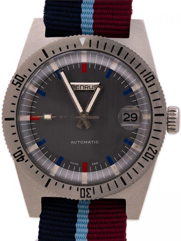 Benrus Automatic Diver's Midcentury circa 1960's