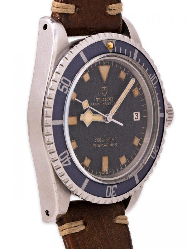 """Tudor """"Snowflake"""" Submariner w/ Date ref# 94110 circa 1976"""
