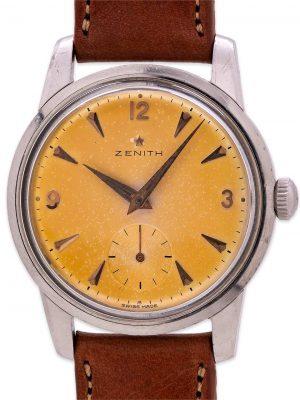"""Zenith """"STÖTSÄKRAD"""" Tropical Dial circa 1956"""