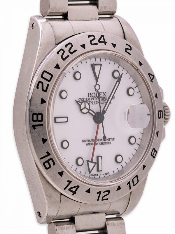 """Rolex Explorer II """"Polar"""" ref 16570 Tritium circa 1996"""