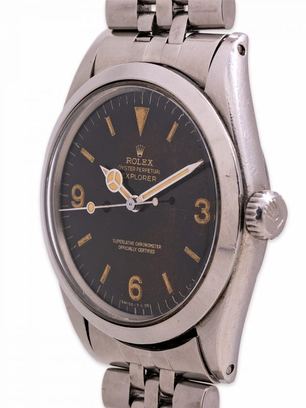 Rolex Explorer 1 ref 1016 Gilt Tropical Dial circa 1967
