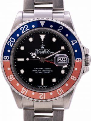 "Rolex GMT II ref 16710 Pepsi ""Stick Dial"" circa 2006"