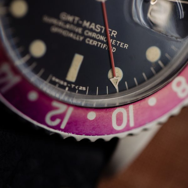 Rolex GMT ref 1675 Gilt T<25 circa 1966