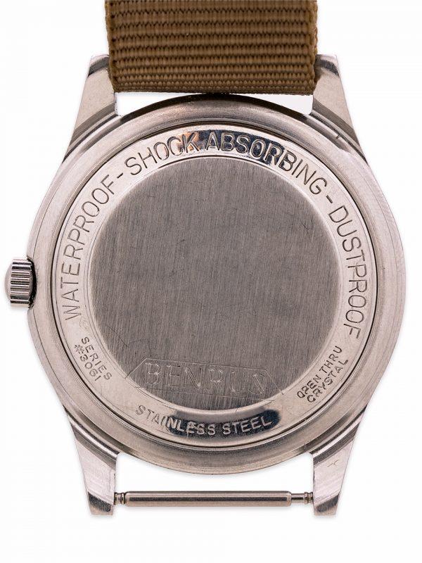 """Benrus """"Bullitt"""" Steve McQueen ref 3061 Stainless Steel circa 1960's"""