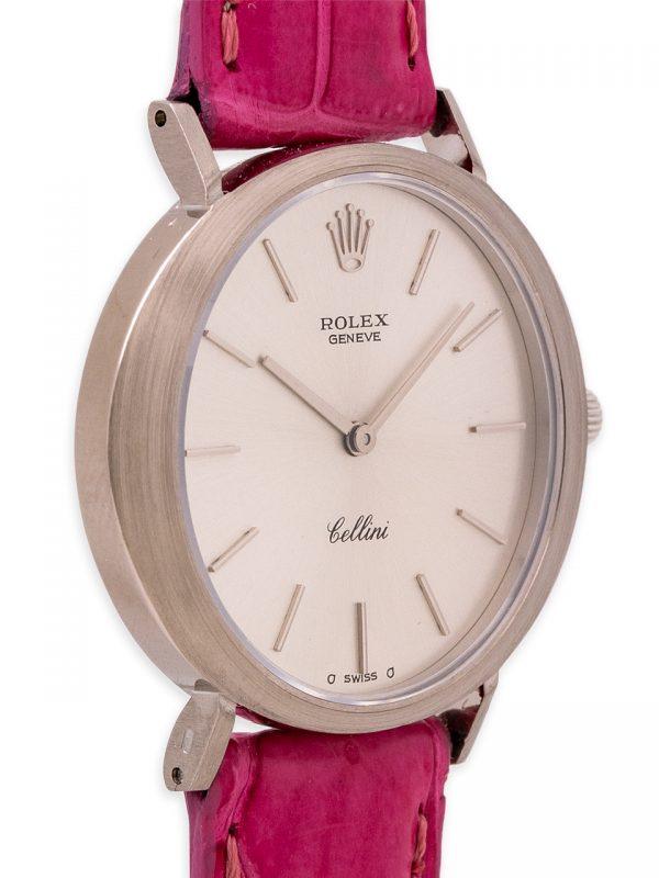 Rolex Cellini 18K WG circa 1965