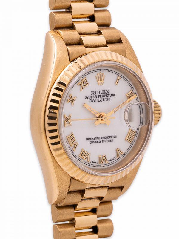 Rolex Lady President 18K YG ref 69178 circa 1987