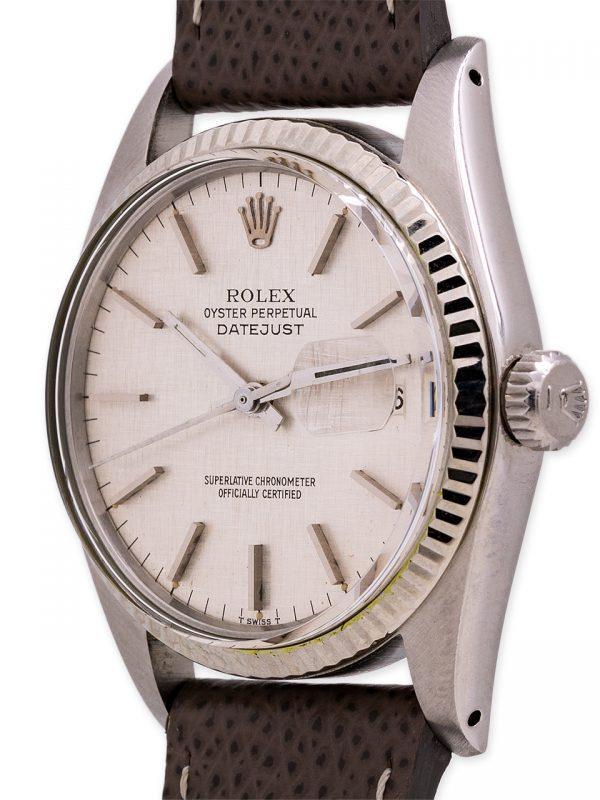Rolex Datejust ref 16014 SS/18K WG circa 1978