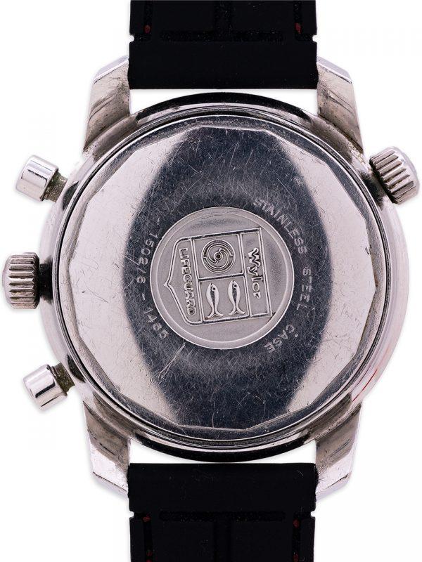 "Wyler ""Jumbostar"" Lifeguard Chronograph ref 1502-6 ""Paul Newman"" circa 1960's"