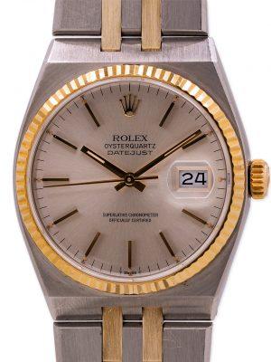 Rolex Datejust Oyster Quartz ref 17013 SS & 18K YG circa 1981