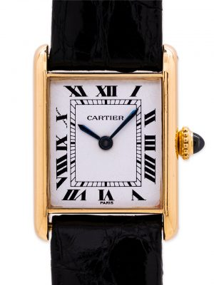 "Cartier Lady ""Mini"" Tank Louis 18K YG circa 1980s"