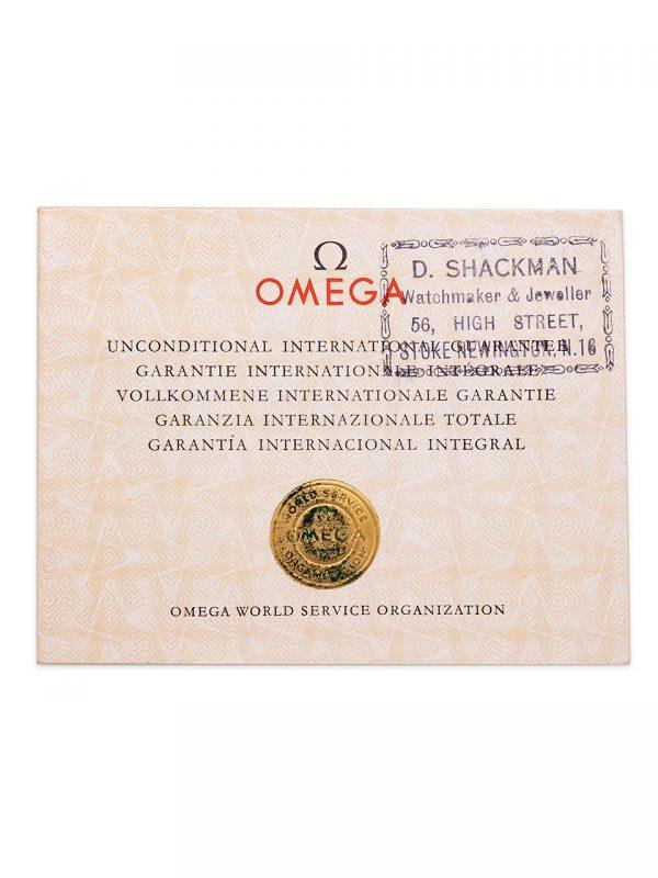 Omega Constellation ref 14393 Tropical circa 1959 Full Set