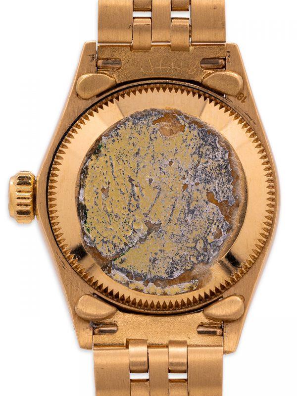 Rolex Oyster Perpetual 18K YG ref 6718 Tiffany & Co circa 1979