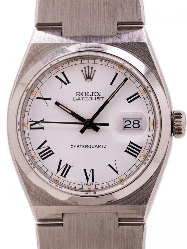 Rolex Datejust ref 17000 Oyster Quartz Mk 1 Buckley Dial circa 1979