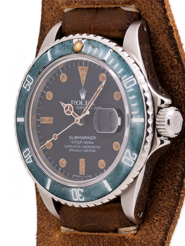 "Rolex Submariner ref 16800 ""Middle Earth Day"" Matte Dial  circa 1978"