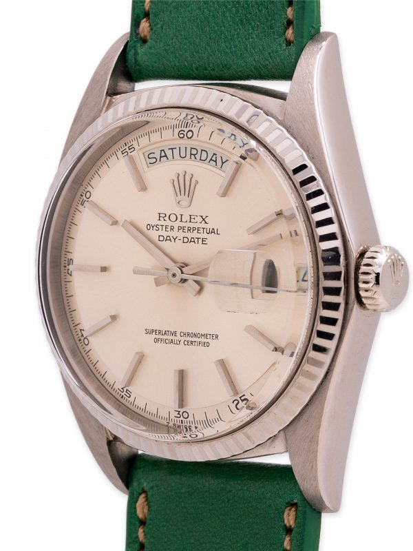 Rolex Day Date President ref 1803 18K WG Technical Dial circa 1970