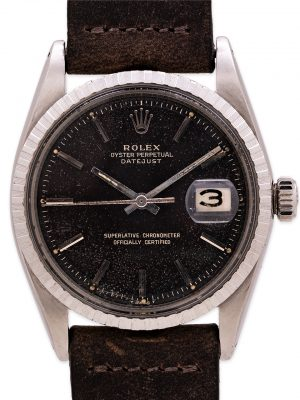 Rolex Datejust ref 1603 Tropical Chocolate Gilt Dial circa 1967
