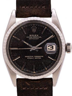 Rolex Datejust ref 1603 Tropical Chocolate Gilt Dial circa 1967