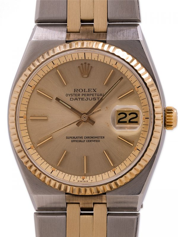Rolex Datejust ref 1630 SS & 18K YG  Automatic (Oyster Quartz Case) circa 1977