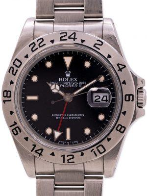Rolex Explorer II ref 16570 Black Tritium Dial circa 1989