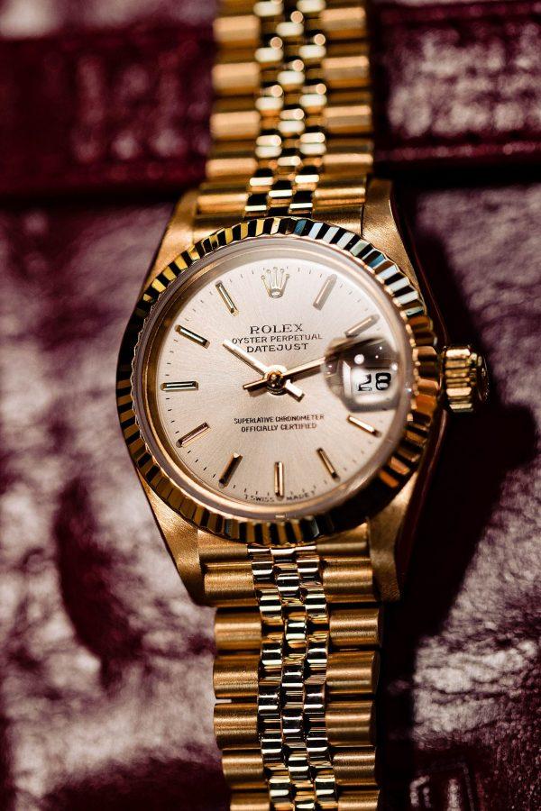 Rolex Lady Datejust 18K YG ref 69178 1996