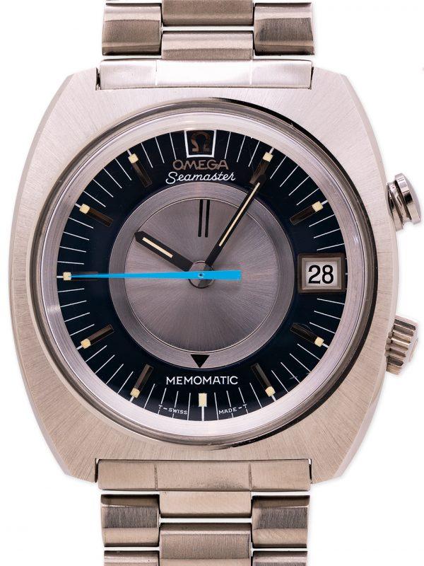 Omega Seamaster Memomatic Alarm circa 1970s New Old Stock Essay!