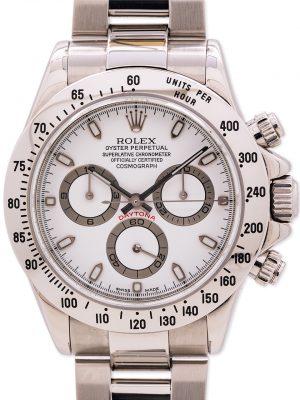 Rolex Daytona ref 116520 Stainless Steel circa 2000
