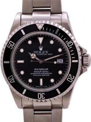 Rolex Sea-Dweller ref 16600 Tritium circa 1995 Box & Papers